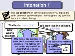 intonation 1
