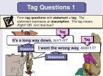 tag questions 1