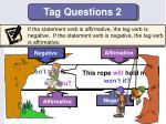 tag questions 2