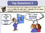 tag questions 3