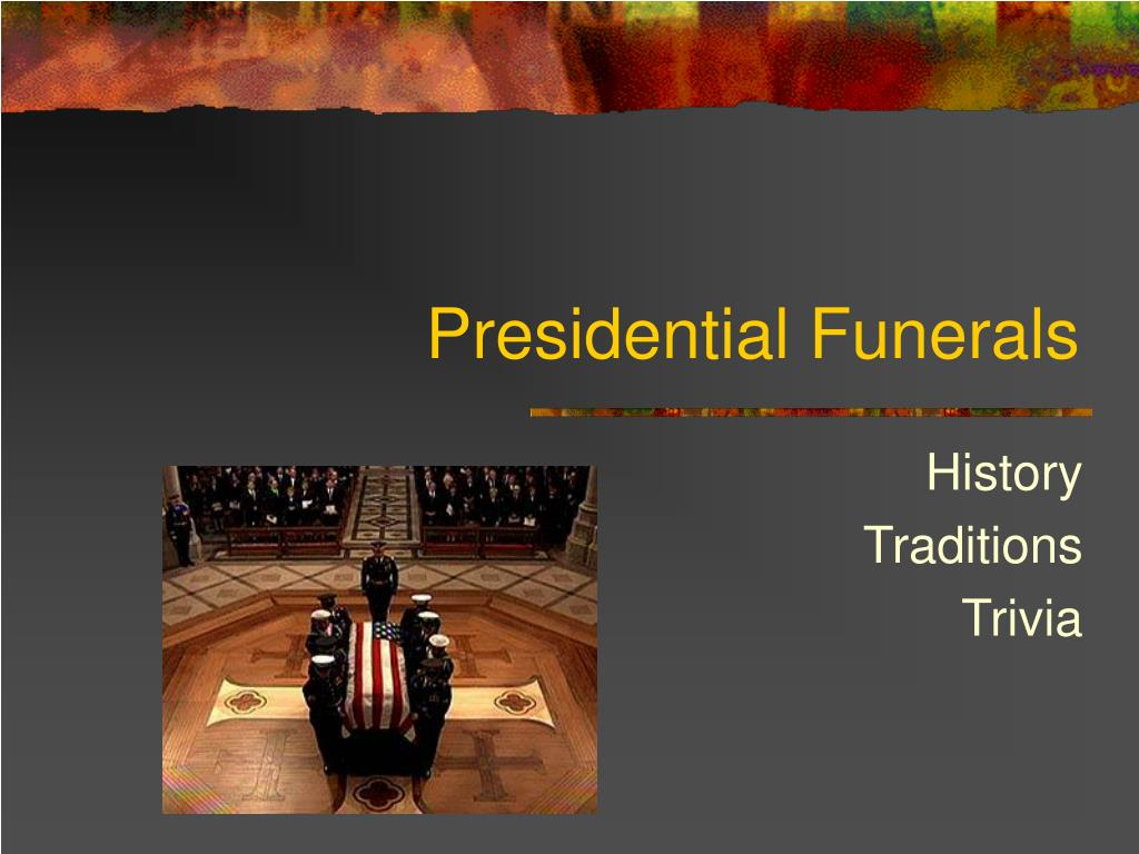 presidential funerals l.