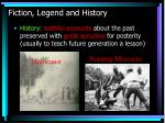 fiction legend and history5