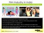film industry in india