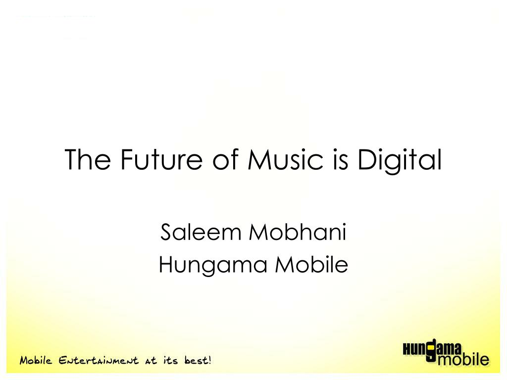 the future of music is digital l.