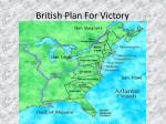 british plan for victory