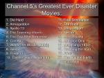 channel 5 s greatest ever disaster movies