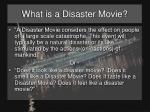 what is a disaster movie