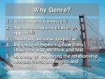 why genre