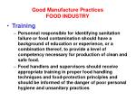 good manufacture practices food industry10