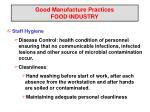 good manufacture practices food industry7