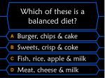 which of these is a balanced diet