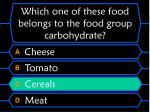 which one of these food belongs to the food group carbohydrate48
