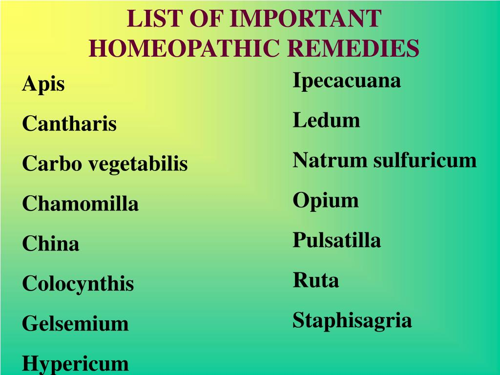 PPT - HOMEOPATHY IN ACUTE CASES PowerPoint Presentation - ID