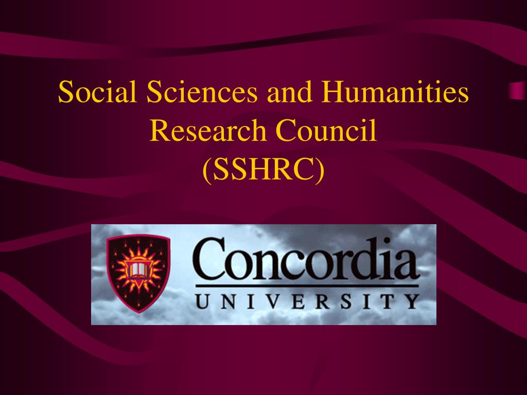 social sciences and humanities research council sshrc l.