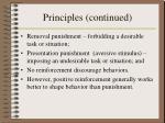 principles continued11