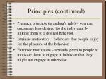 principles continued12