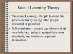 social learning theory23