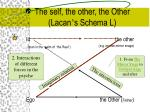 the self the other the other lacan s schema l