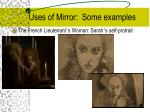 uses of mirror some examples10