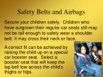 safety belts and airbags14