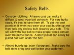 safety belts12