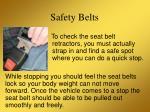 safety belts9