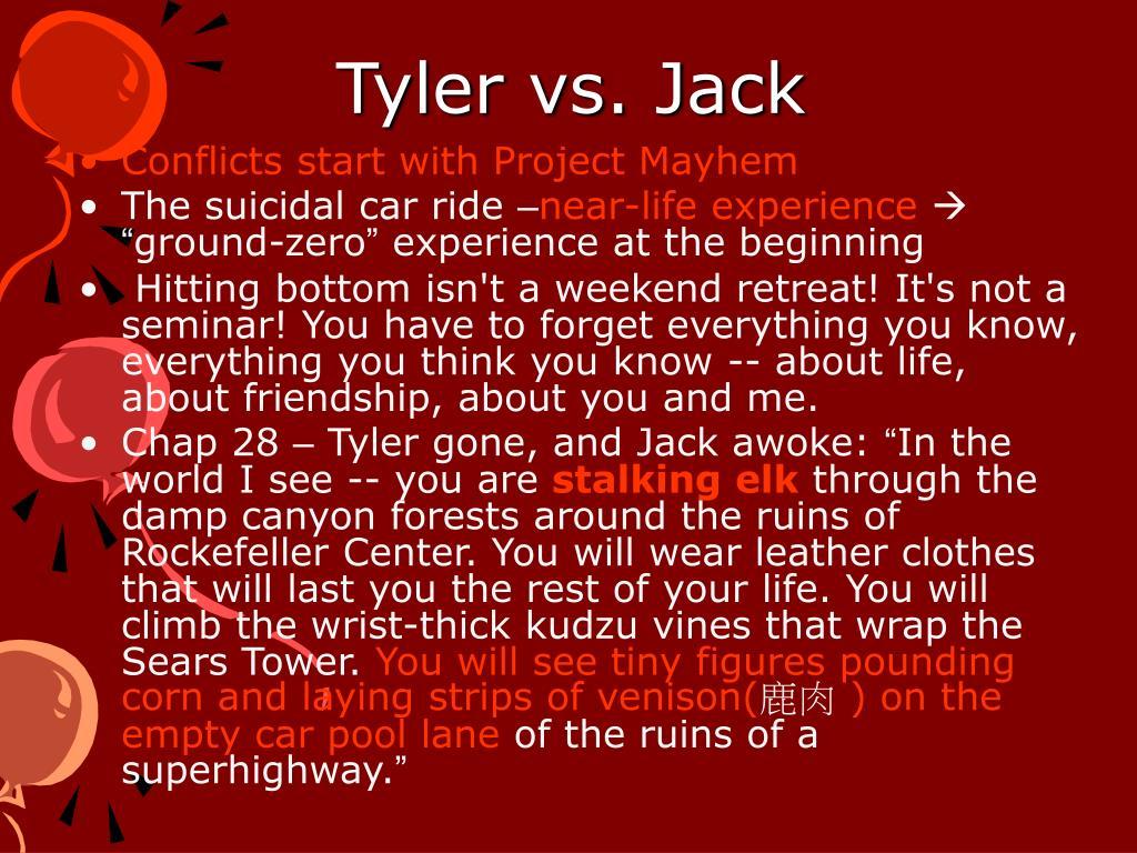 Tyler vs. Jack