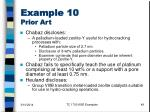 example 10 prior art