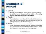 example 2 prior art