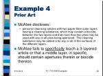 example 4 prior art