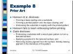 example 8 prior art