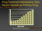 drug treatment admissions non heroin opioids as primary drug