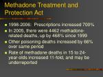 methadone treatment and protection act27
