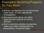 prescription monitoring programs do they work79