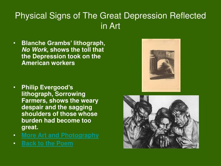 PPT - Pantoum of the Great Depression By Donald Justice ...