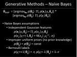 generative methods na ve bayes36