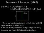 maximum a posteriori map