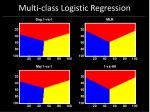 multi class logistic regression64