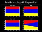 multi class logistic regression66