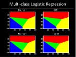 multi class logistic regression68