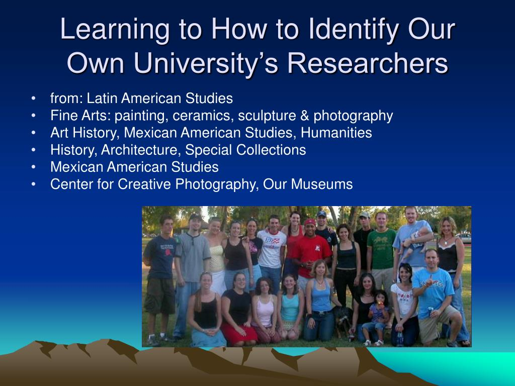 Learning to How to Identify Our Own University's Researchers