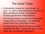 the canal treaty