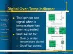 digital over temp indicator