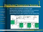 distributed temperature sensing