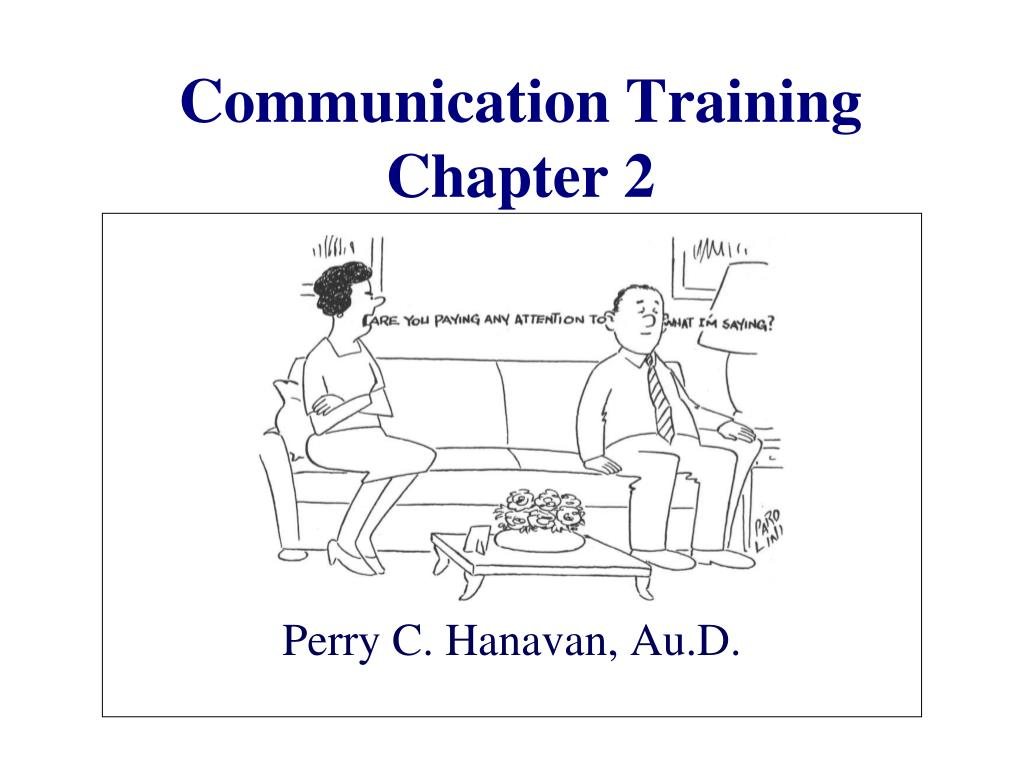 communication training chapter 2 l.