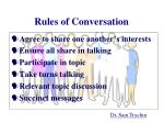 rules of conversation