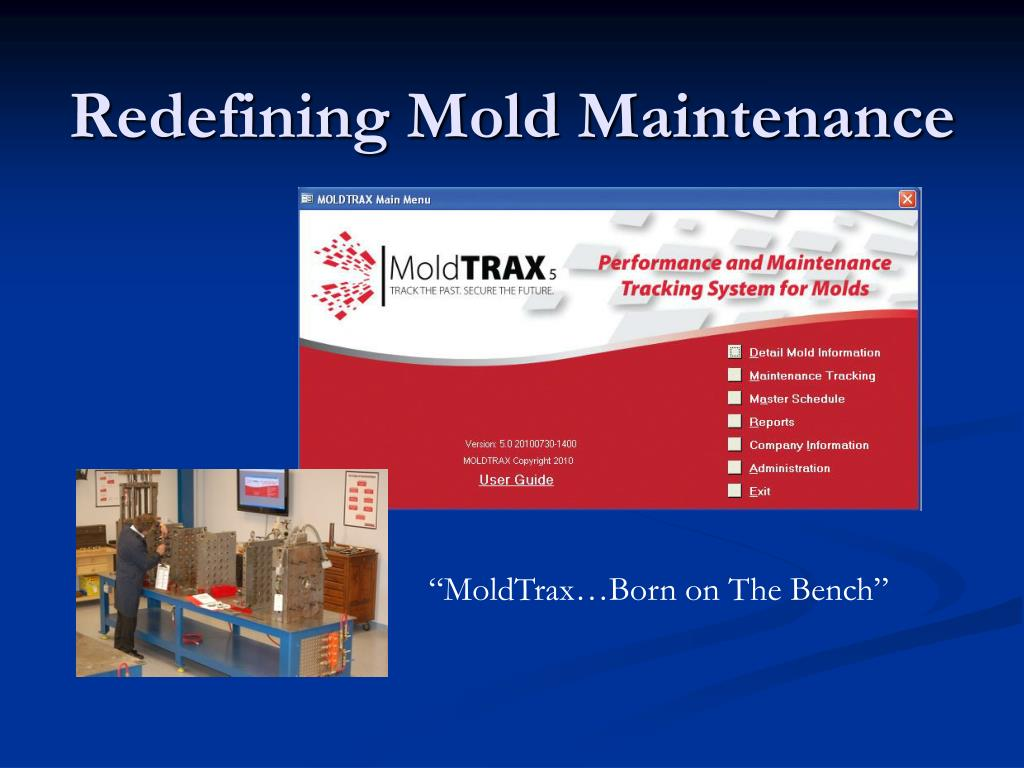 redefining mold maintenance l.