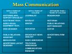 mass communication6