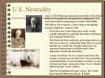 u s neutrality
