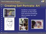 creating self portraits art